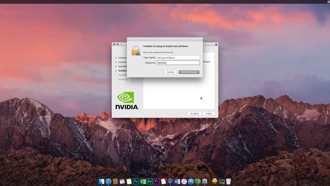How to enable Nvidia web drivers for 10 12 4 and 10 12 5