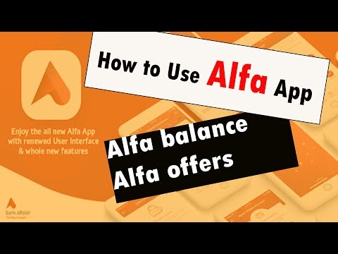 alfa App : How to Use Bank alfalah Alfa app (alfa app details discussed) from YouTube · Duration:  4 minutes 36 seconds