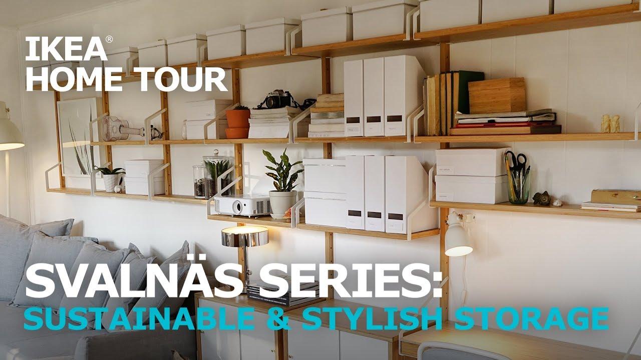 Stylish Wall Mounted Shelves  IKEA Home Tour  YouTube