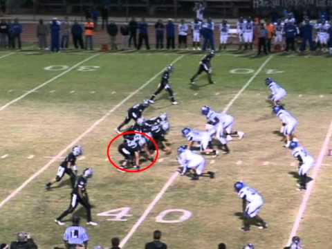 #79 OT Patrick Joseph Hamilton High School Junior Football Highlights Class of 2013