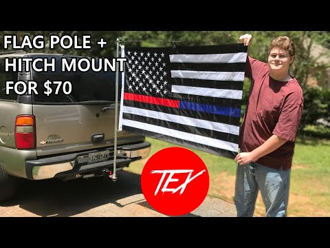How To Make A FLAG POLE For TAHOE / SUBURBAN
