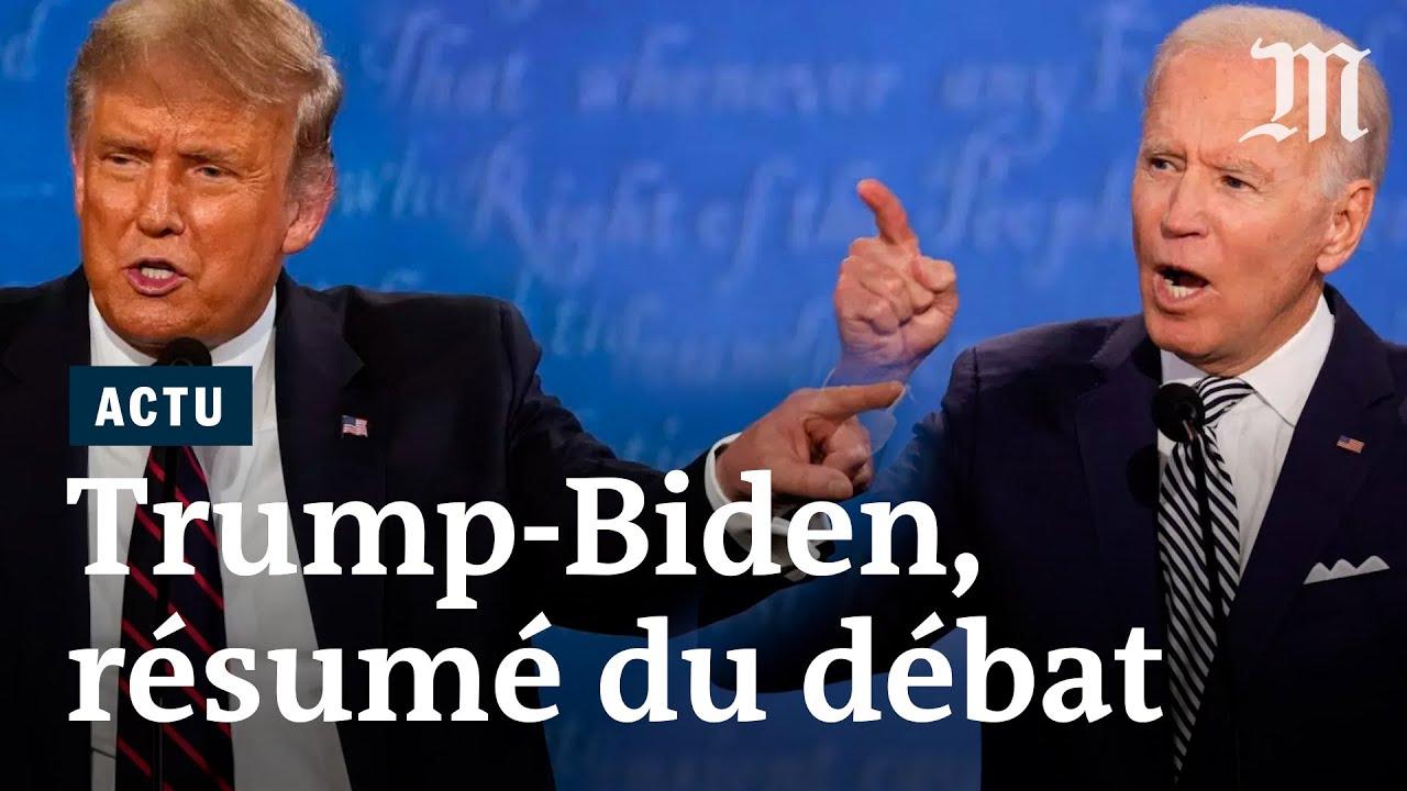 Trump vs Biden : le résumé du premier débat de la présidentielle américaine 2020