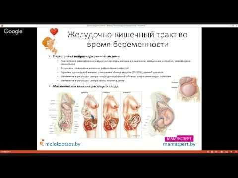 При беременности болит желудок на ранних сроках