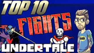 Top 10: Fights in Undertale