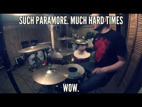 Thumbnail: SallyDrumz - Paramore - Hard Times Drum Cover