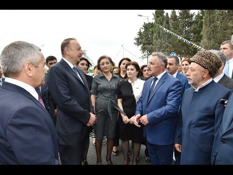 Prezident İlham Əliyev Nardaran qəsəbəsinin sakinləri ilə görüşüb