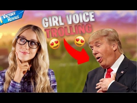 GIRL VOICE TROLLING THIRSTY DONALD TRUMP 🤤
