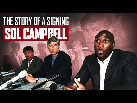 The most surprising transfer ever! | The story of Sol Campbell's move from Tottenham to Arsenal