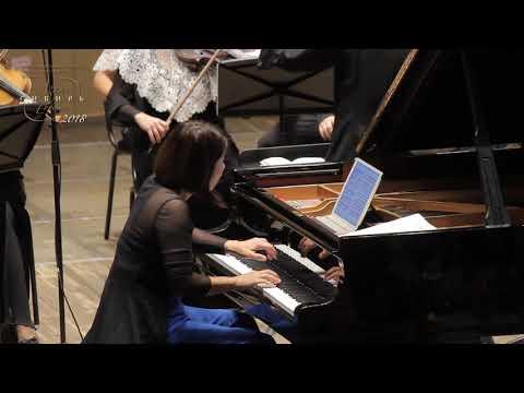 J.S. Bach Keyboard Concerto D minor BWV 1052 3mov Aki Kuroda  Krasnoyarsk Chamber Orchestra