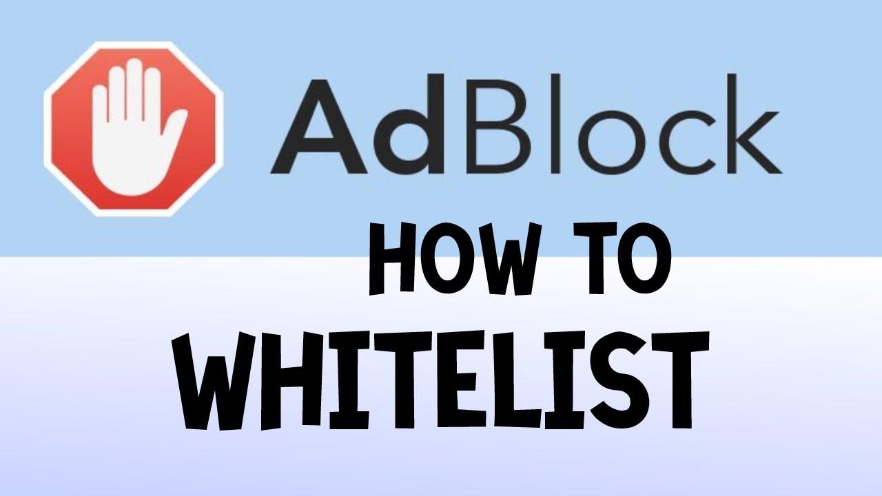 AdBlock: How To Properly WhiteList Domains or Folders (Google Chrome  Version)