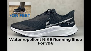 Nike QUEST 3 SHIELD 'Black/white silver' | UNBOXING & ON FEET | running shoes | 2020