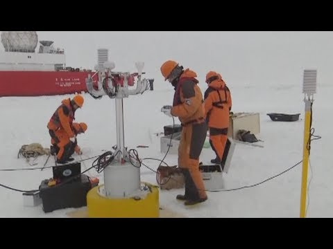 Chinese Scientists Install Unmanned Observation System In Arctic