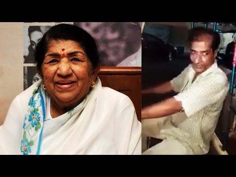 Lata Mangeshkar applauds auto driver from Karachi, post his video on her FB page