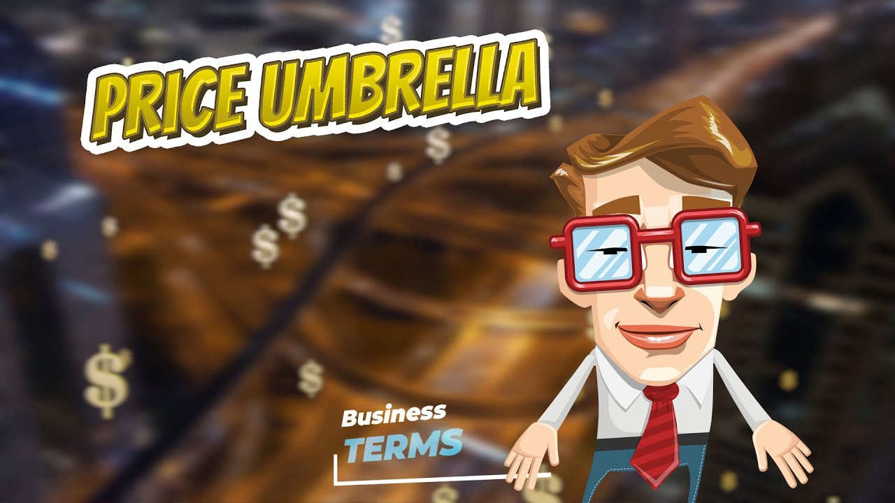 Price Umbrella Business Terms Youtube