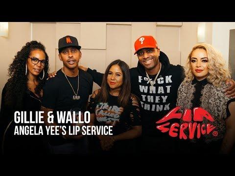 Angela Yee's Lip Service Ft. Gillie Da King & Wallo267