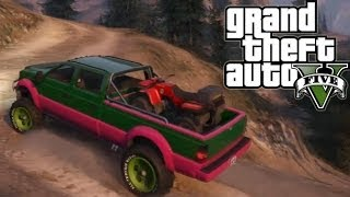 ★ GTA 5 - Hauling ATV Up Mountain   Second Try   Off-Road 4x4(Video of first try: https://www.youtube.com/watch?v=NErkmL5qtf8 Hauling the Giant Orange Ball in a truck: http://tinyurl.com/of5rg6v Here is my second attempt at ..., 2013-10-14T20:34:02.000Z)