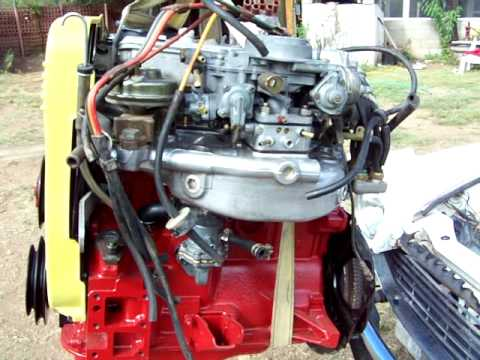 Fiat 124 spider engine install youtube for Fiat 124 spider motor
