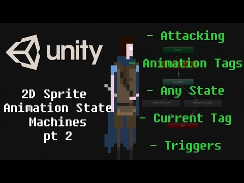 Unity Animation System for 2D Sprite Games Pt 2 Attacking