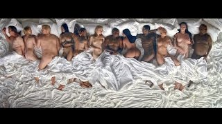 """Kanye West's """"Famous"""" video has Ray J, Piers Morgan & Lena Dunham Pissed"""
