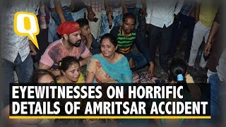At Least 60 Dead After Being Run over by a Train in Amritsar | The Quint