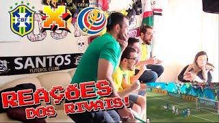 REAÇÕES: Brasil 2 x 0 Costa Rica - Copa do Mundo - OS RIVAIS