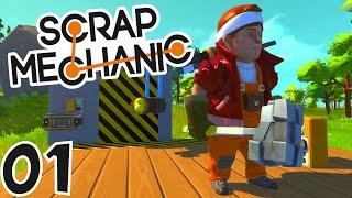 LES CONSTRUCTEURS DE L'EXTRÊME ! | Scrap Mechanic ! #Ep1