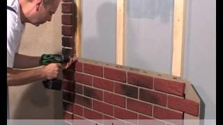 видео Фасадные панели для наружной отделки дома