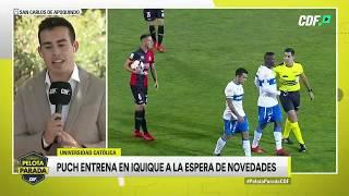 Edson Puch entrena en Iquique a la espera de novedades sobre su futuro