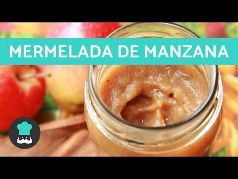 Mermelada de Manzana Casera - Receta Fácil y Rápida