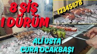 CURA OCAKBAŞI. 8 şiş 1 dürüm Kozan lezzetleri 7/24 hizmet Ali Usta