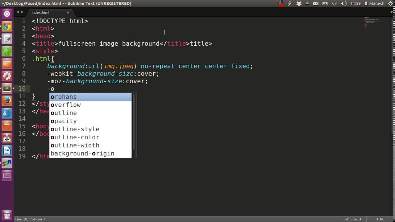 Background image opacity in css - Full Screen Background Image Using Css You