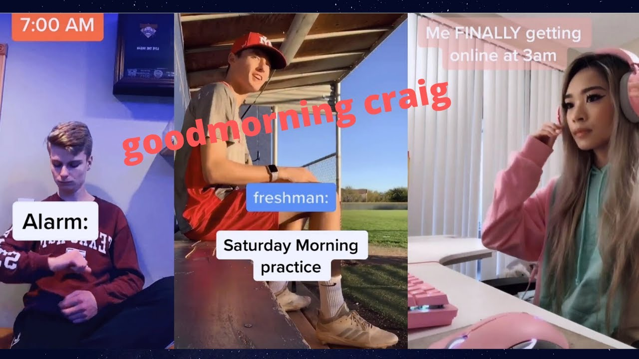 Hey Good Morning Craig Shut Tf Up Challenge Tiktok Compilation Youtube