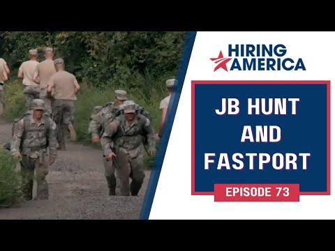 JB Hunt, Fastport on Hiring America: Full Episode #73