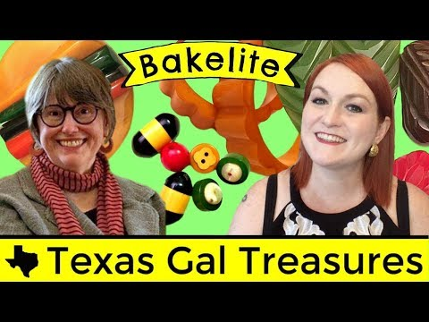 Bakelite Jewelry Show & Tell w/ Sharon Fiffer - What is Bakelite? - How Can you Tell it is Bakelite?