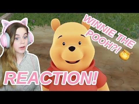 Kingdom Hearts 3 Winnie the Pooh Trailer REACTION
