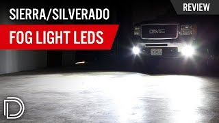GMC Sierra / Chevy Silverado Fog Light LEDs