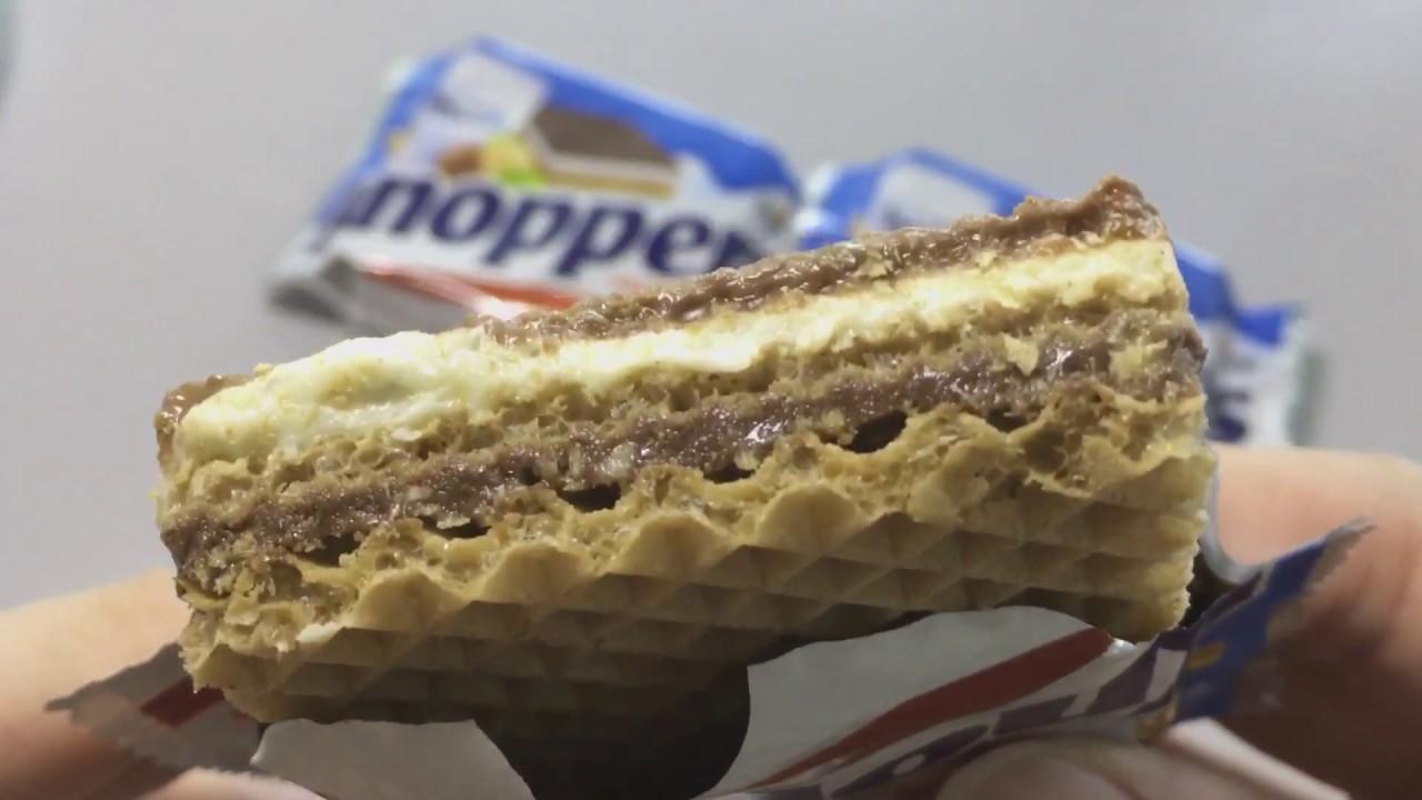 Knoppers Milk-Hazelnut Wafer, Germany Snacks