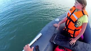 Рыбалка 2021 на Капчагайском Водохранилище Проверяем кружки меняем наживку перед штормом