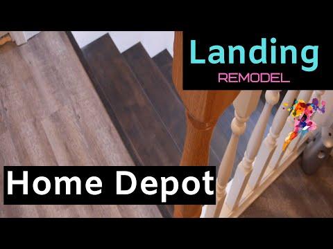 Home Depot | Home | Stairs | Landing Remodel | Linoleum