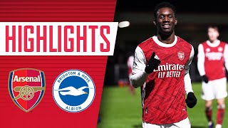 HIGHLIGHTS | Arsenal Academy vs Brighton (5-0) | Balogun, Azeez, Moller