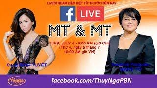Live Stream với Cô Marie Tô, Minh Tuyết, Hoàng Nhung