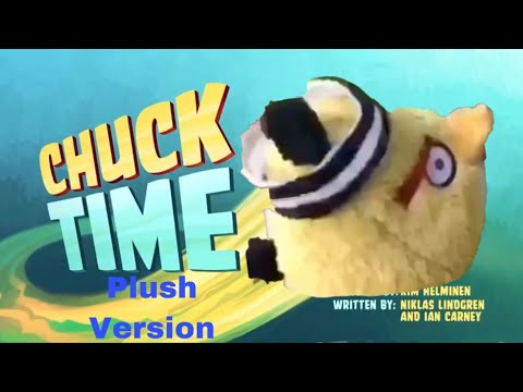Angry Birds Toons Plush Version: Chuck Time