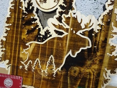 custom-moose-key-holder:-cnc-laser-engraved-and-cut-whitewood