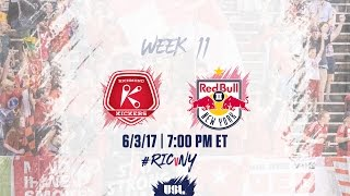 Richmond Kickers vs New York Red Bulls USL full match