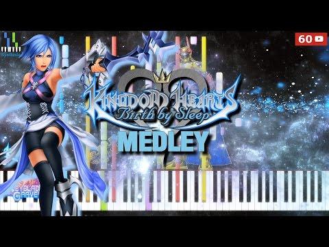 【Synthesia】Kingdom Hearts Bbs - Medley 1080P60