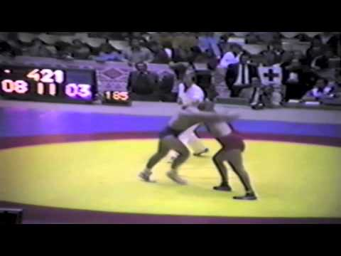 1983 Senior World Championships: 90 kg Ayik Sezgyn (TUR) vs. Ed Banach (USA)