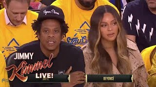 Beyoncé and Jay-Z Drama at the NBA Finals