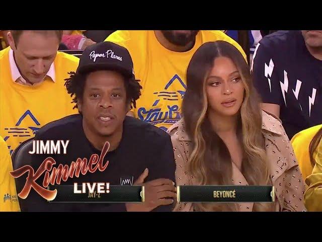 Beyoncé and Jay-Z Drama at the NBA Finals