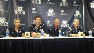 Butler University basketball coach Brad Stevens