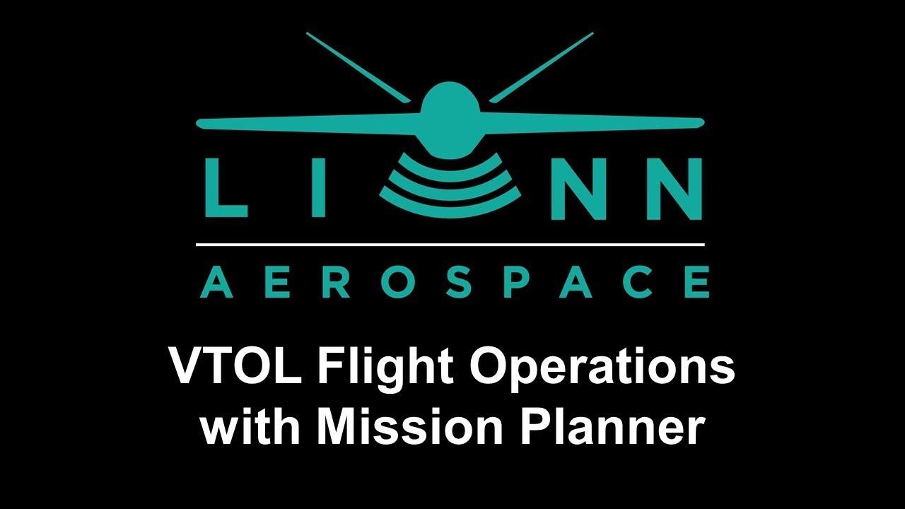 MIssion Planner VTOL Flight Operations